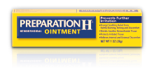 Preparation H for swollen baggy eyes