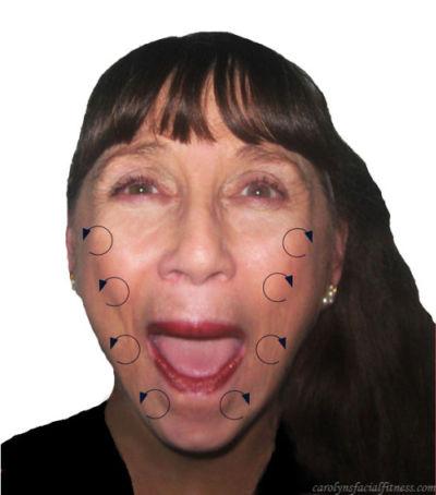 face massage exercise