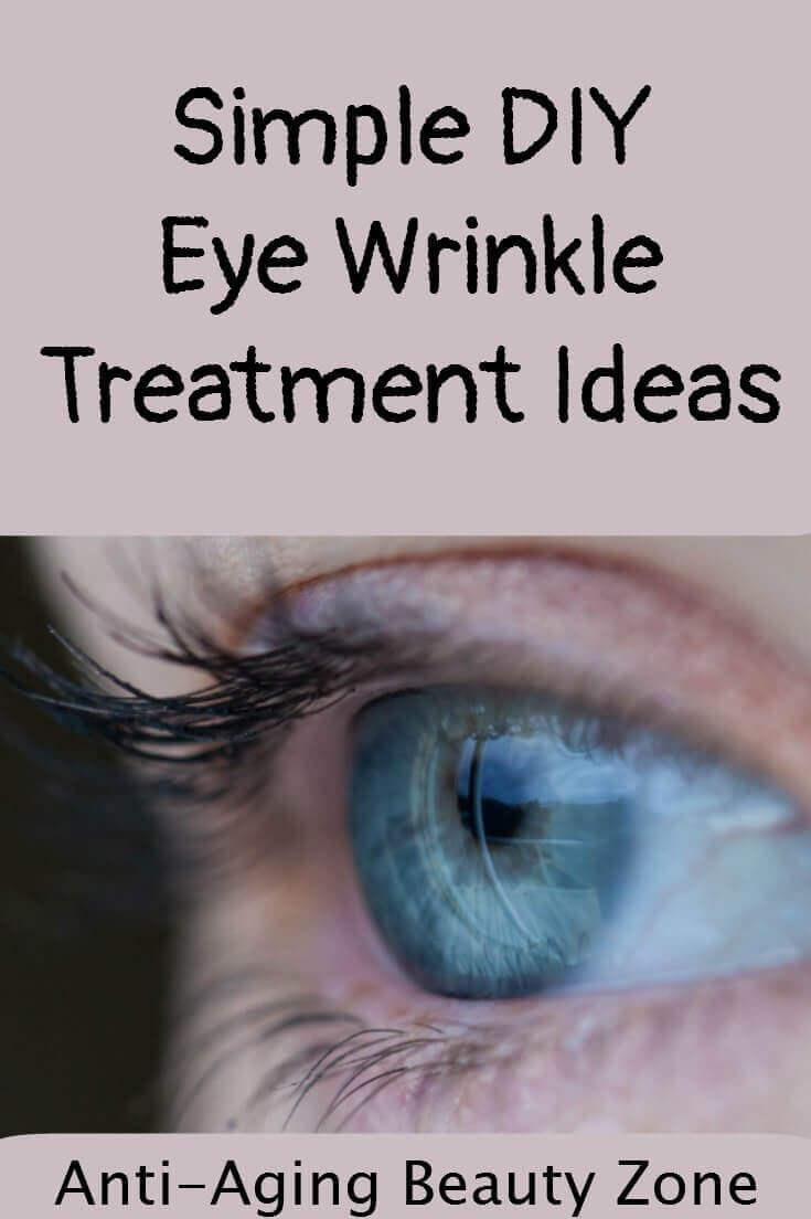 DIY Eye Wrinkle Treatment
